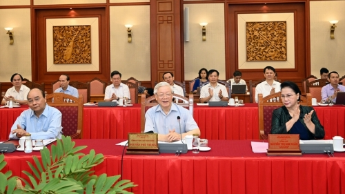 September 14-20: Hanoi needs to set example in all fields: top leader