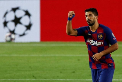 Football: Suarez signs two-year contract with Atletico