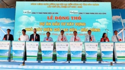 Soc Trang commences construction of two wind power plants