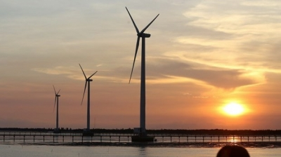 Construction starts on two wind power plants in Gia Lai