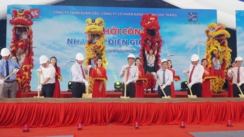 Work starts on 120 MW wind power plant in Soc Trang
