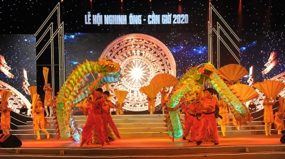 Can Gio's Whale Worshiping Festival features various attractive activities