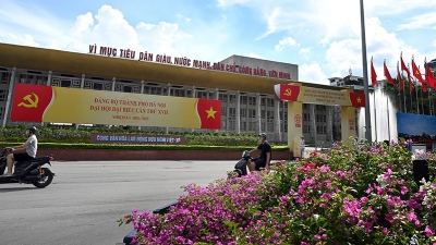Hanoi streets brilliantly decorated to celebrate major events
