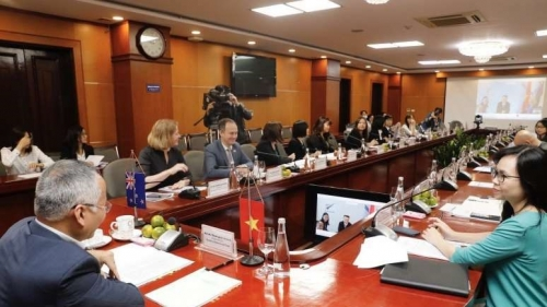 Vietnam, New Zealand seek to enhance bilateral trade