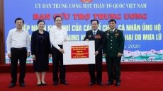 Over US$11 million donated to central region via Vietnam Fatherland Front