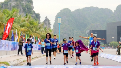Halong Bay International Heritage Marathon kicks off