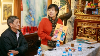 Book provides readers with greater understanding of Hang Trong folk painting