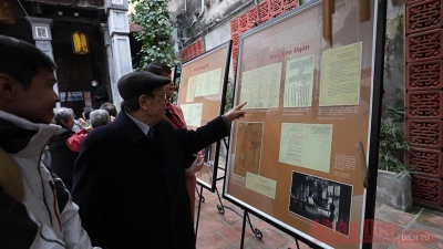 Exhibition highlights Hanoi's traditional trade streets