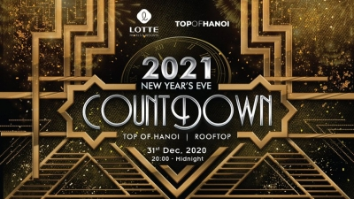 December 28 - January 3, 2021: Top of Hanoi: Countdown to 2021