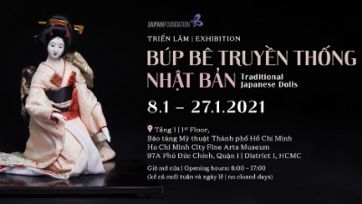 January 11-17: Exhibition of traditional Japanese dolls in HCMC