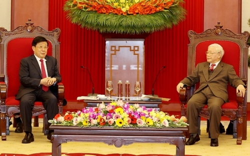Party and State leader, Prime Minister host Chinese Minister of Public Security
