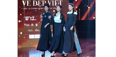 Ao Dai collection inspired by Lunar New Year introduced