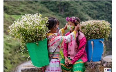Photo set highlights people in Ha Giang developing sustainable economy, combatting COVID-19 effectively