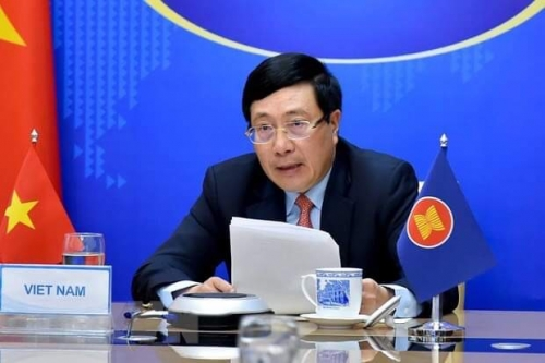 Informal ASEAN Ministerial Meeting: Vietnam, ASEAN cooperate to drive back pandemic