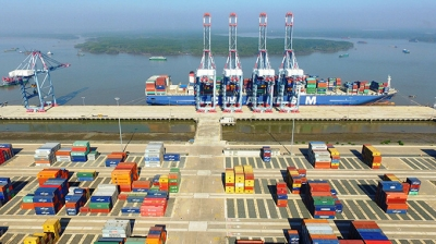 Volume of containers through Ba Ria-Vung Tau seaports up 21%