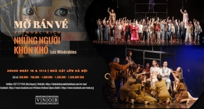 April 12 - 18: Les Miserables in Hanoi