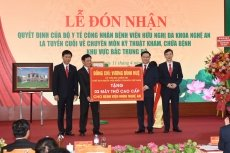 NA Chairman pays working trip to central Nghe An province