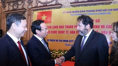 Ho Chi Minh City beefs up cooperation with foreign partners