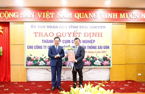 Thai Nguyen establishes three industrial clusters worth VND1.2 trillion