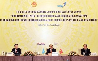 Vietnamese President chairs UNSC's high-level open debate