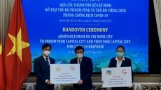 Ho Chi Minh City supports Vientiane, Phnom Penh in COVID-19 control