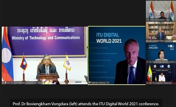Laos speeds up digital transformation for sustainable development
