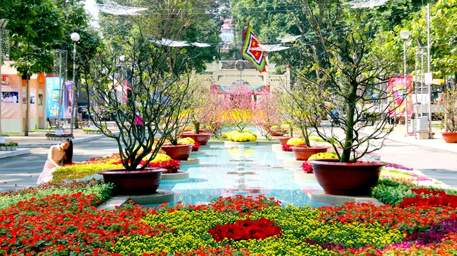 Hcmc To Hold Spring Flower Festival In Early February Nhan Dan Online