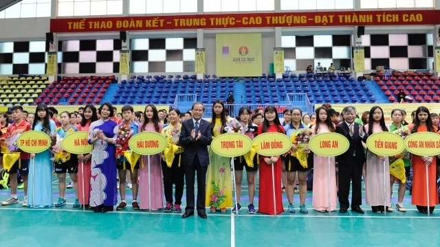 Nhan Dan newspaper national table tennis tournament kicks off