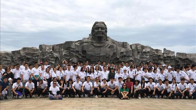 Young Vietnamese expats visit Quang Nam province