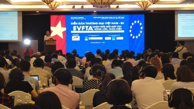 Vietnam - EU Trade Forum opens in Ho Chi Minh City - Nhan Dan Online