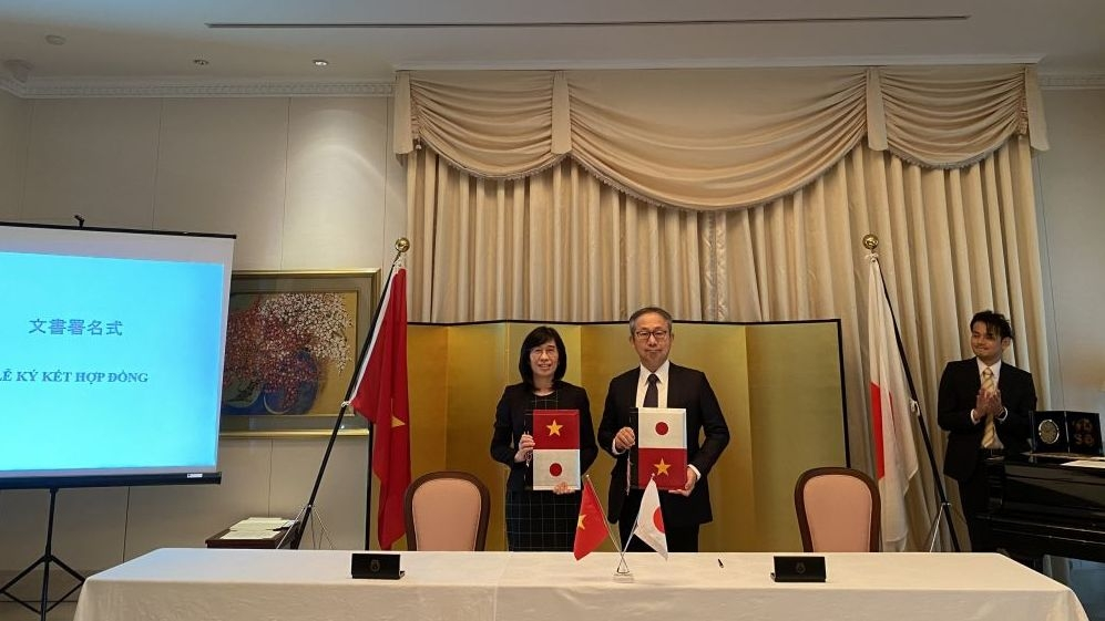 Japan provides non-refundable aid for seven projects