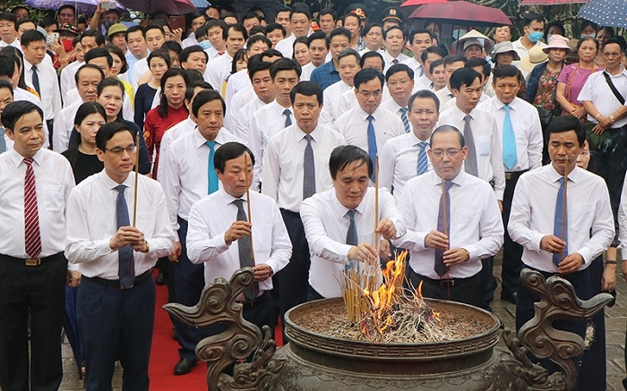 Ceremony in Phu Tho commemorates legendary ancestors of Vietnam