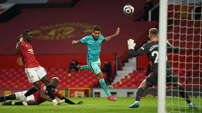 Firmino double as Liverpool end long wait for win at United