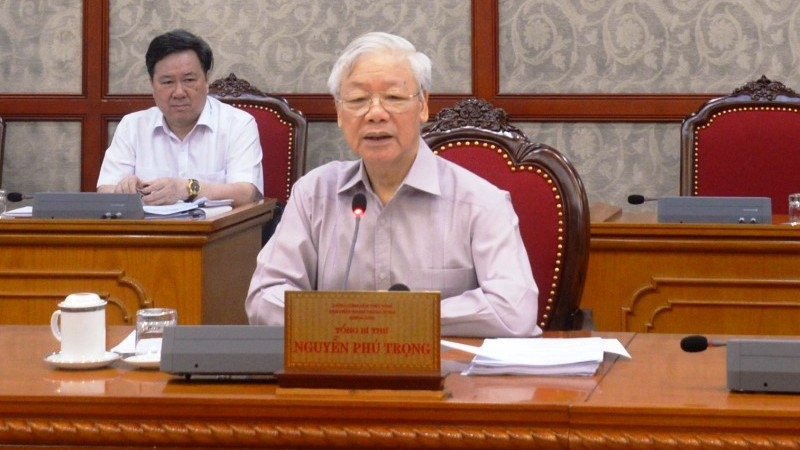 Party chief calls for extra efforts to combat COVID-19