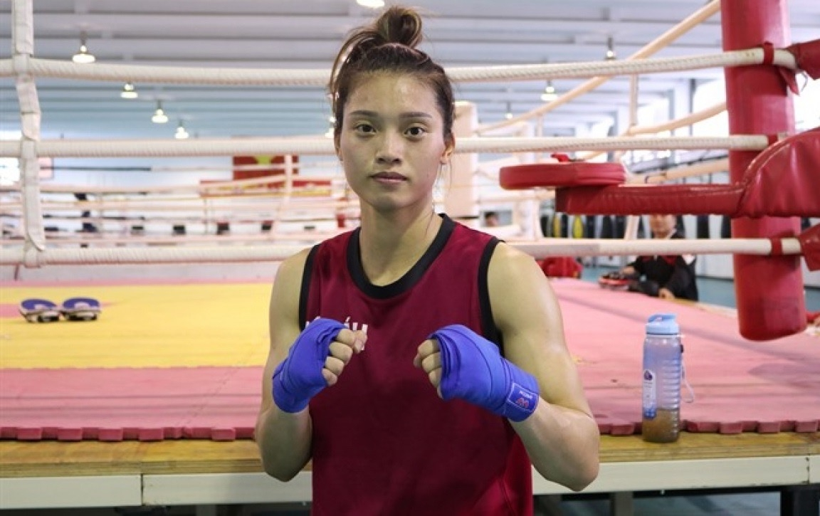 Female Vietnamese boxer qualifies for Tokyo Olympics