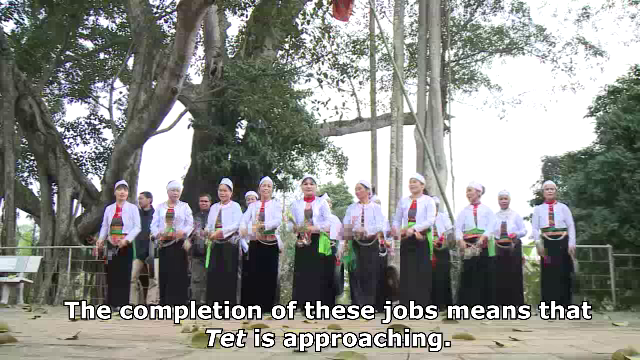 [VIDEO] Tet greeting songs: ritual celebrations of the Muong